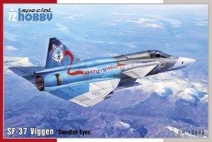 Special Hobby 72390 SF-37 Viggen 'Swedish Eyes 1/72