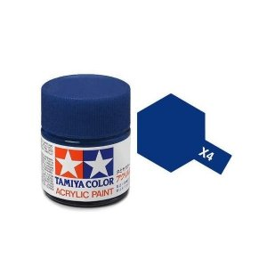 Tamiya 81004 Acryl X-4 Blue 23ml