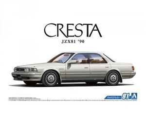 Aoshima 05612 Toyota JZX81 Cresta 2.5 Super Lucent G '90 1/24