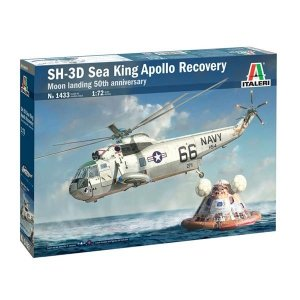 Italeri 1433 SH-3D Sea King Moon Landing 50th Anniv. 1/72