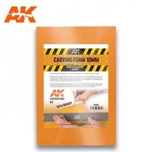 AK Interactive AK 8094 CARVING FOAM 10MM A4 SIZE (pianka do rzeźbienia)