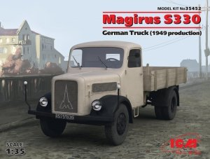 ICM 35452 German Truck Magirus S330 (S-3000) (1949 production) 1/35
