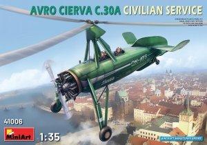 MiniArt 41006 Avro Cierva C.30A Civilian Service 1/35