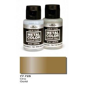 Vallejo 77725 Metal Color- Gold 32ml