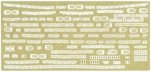 Hasegawa QG49 (72149) Hikawa Maru Detail Up Etching Parts Basic 1/350