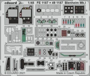 Eduard FE1187 Blenheim Mk.I AIRFIX 1/48