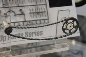 Tamiya 12674 Assembly Chain Set for 1/6 Scale Motorcycle Honda 1/6