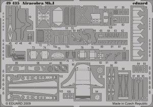 Eduard 49435 Airacobra Mk. I S. A. 1/48 Hasegawa