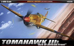 Academy 12235 TOMAHAWK IIb Ace of African Front 1/48