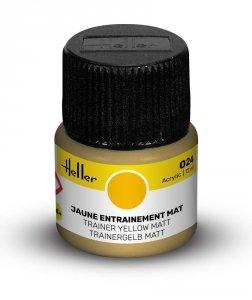 Heller 9024 024 Trainer Yellow - Matt 12ml