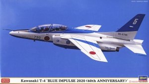 Hasegawa 02356 Kawasaki T-4 Blue Impulse 2020 1/72