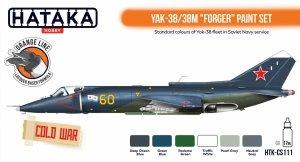Hataka HTK-CS111 Yak-38/38M Forger paint set (6x17ml)