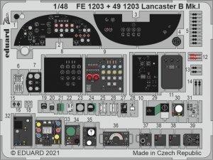 Eduard 491203 Lancaster B Mk.I cockpit HK Models 1/48