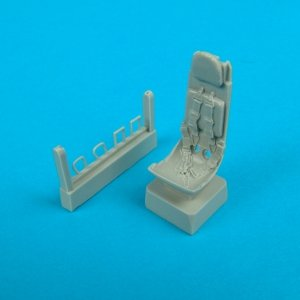 Quickboost QB48025 He 162 ejection seat with safety belts ITALERI 1/48