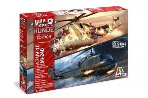 Italeri 35103 WAR THUNDER UH-1C & Mi-24D 1/72