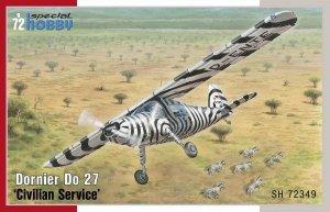 Special Hobby 72349 Dornier Do 27 Civilian Service 1/72