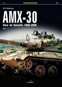 Kagero 0010 AMX-30. Char de Bataille 1966–2006 EN