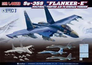 Great Wall Hobby L4823 Su-35S Flanker-E Multirole Fighter Air to Surface Version 1/48