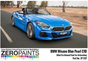 Zero Paints ZP-1127 BMW Misano Blue Pearl Paint 60ml