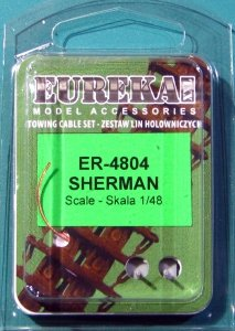 Eureka XXL ER-4804 Towing cable for Sherman 1/48
