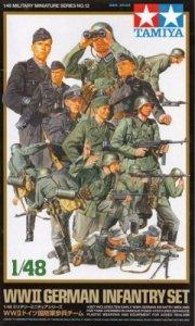 Tamiya 32512 German Infantry set (1:48)