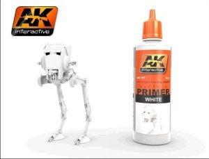 AK Interactive AK 177 WHITE PRIMER 60ml