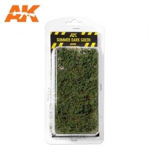 AK Interactive AK 8168 SUMMER DARK GREEN SHRUBBERIES 75MM / 90MM 1/35