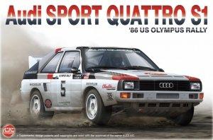 NuNu PN24023 Audi SPORT QUATTRO S1 '86 US OLYMPUS RALLY 1/24