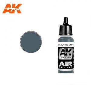 AK Interactive AK 2162 RAL 5008 GREY-BLUE (GRAUBLAU) 17ml