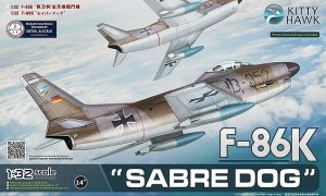 Kitty Hawk 32008 F-86K Sabre Dog 1/32