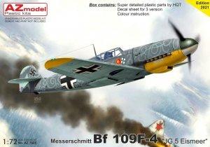 """AZ Model AZ7685 Bf 109F-4 """"JG.5 Eismeer"""" 1/72"""