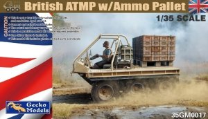 Gecko Models 35GM0017 British ATMP wAmmo Pallet 1/35