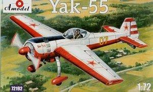 A-Model 72192 Soviet aerobatic aircraft Yakovlev Yak-55 1:72