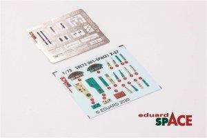 Eduard 3DL72001 Z-37 SPACE 3D for Eduard 1/72
