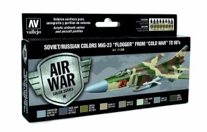 Vallejo 71606 Soviet / Russian colors MiG-23 Flogger from 70 to 90 to present 8x17 ml6