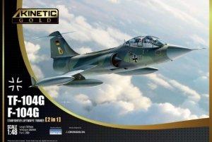 Kinetic K48089 Lockheed TF-104G Starfighter 1/48