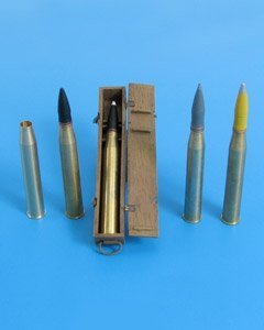 Eureka XXL A-3522 8,8 cm Pzgr.Patr.40/43 Kw.K.43 1/35