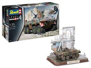 Revell 03321 SpPz 2 Luchs & 3D Puzzle Diorama 1/35