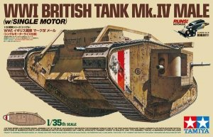 Tamiya 30057 WWI British Tank Mk.IV Male (1:35)