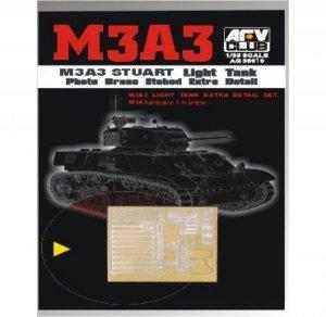 AFV Club AG35010 M3A3 Etching Parts 1:35