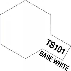 Tamiya 85101 TS-101 Base White Spray Can 100ml