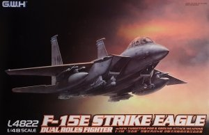 Great Wall Hobby L4822 F-15E Strike Eagle Dual Roles Fighter 1/48