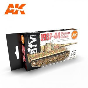 AK Interactive AK 11656 1937-44 PANZER COLORS 6x17 ml