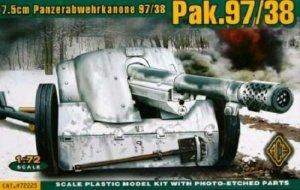ACE 72223 German anti-tank gun 7.5cm Pak.97/38 (1:72)
