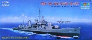 Trumpeter 05731 USS The Sullivans DD-537 1/700