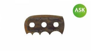 ASK T0030 Razor Saw Octopus - diff. radius ultra smooth teeth 1 pc.