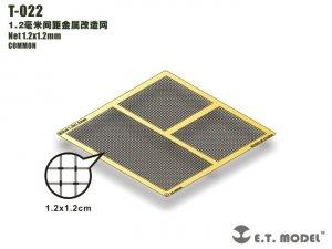 E.T. Model T-022 Net 1.2x1.2mm ( siatka )