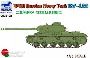 Bronco CB35122 WWII Russian Heavy Tank KV-122 1/35