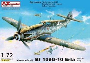 AZmodel AZ7615 Bf-109G-10 Erla (early) block 49XX 1/72