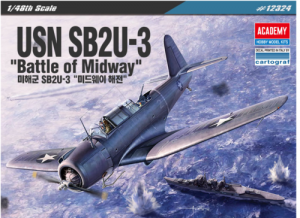 Academy 12324 USN SB2U-3 Vindicator - Battle of Midway 1:48